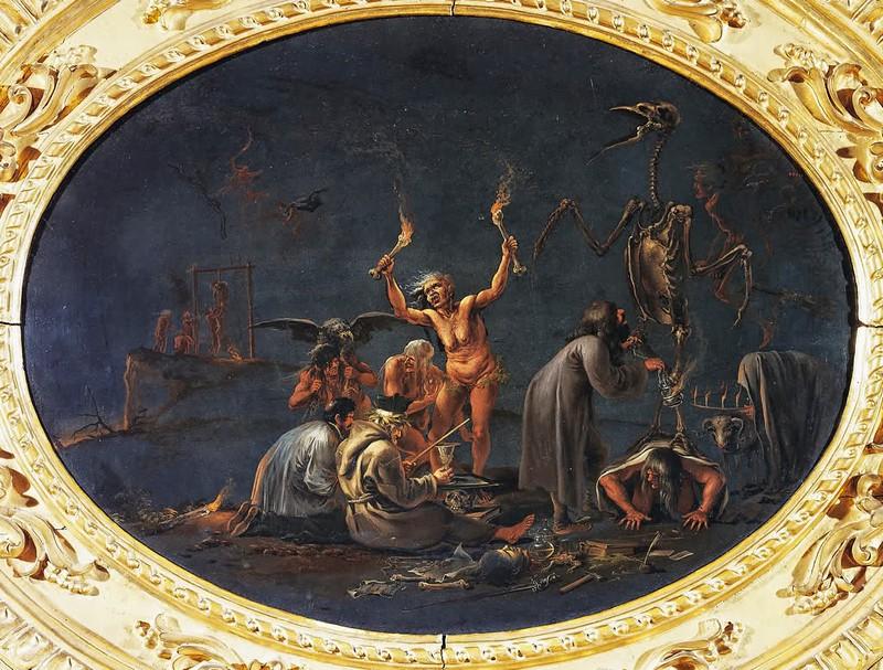 Salvator Rosa - The Witch's Sabbath, 17th c