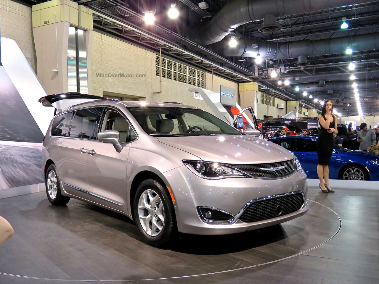 Philly Auto Show 2016 Chrysler Pacifica Minivan
