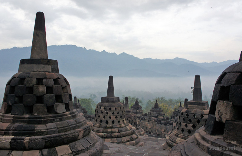 Borobudur, Yogyakarta - 0604 cloudy morning