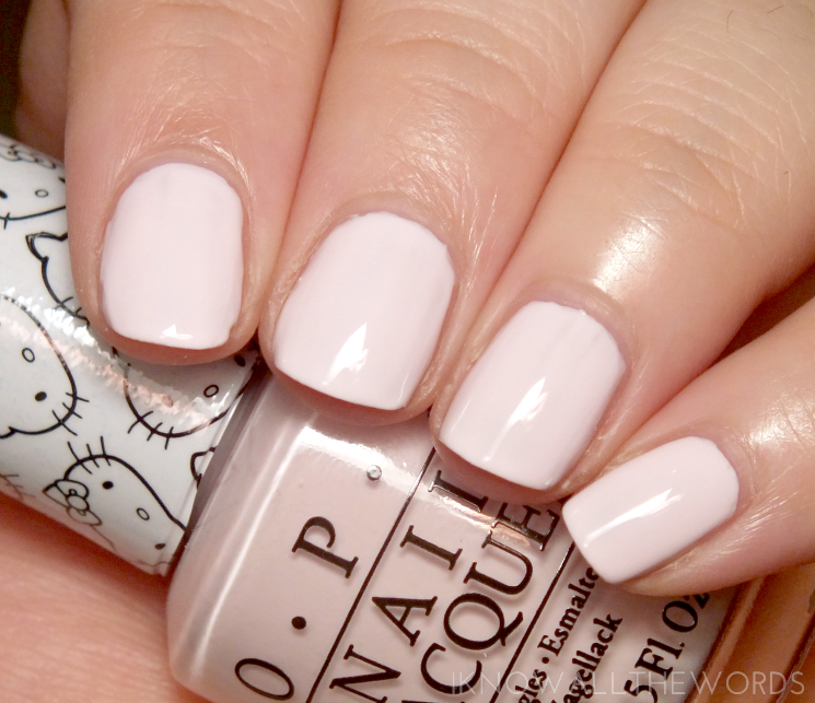 Hello Kitty collection by OPI Let's be Friends