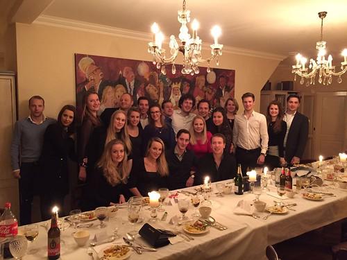 Nieuwjaarsdiner 2016 Leo Club Weert
