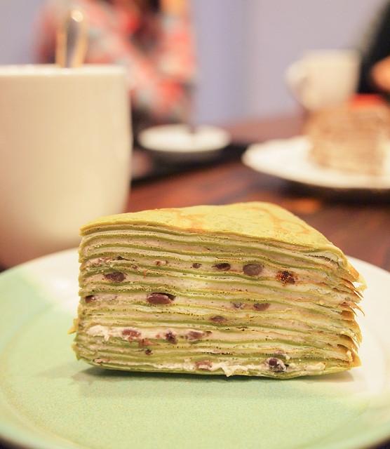台南 中西區–來吃千層蛋糕–福米咖啡