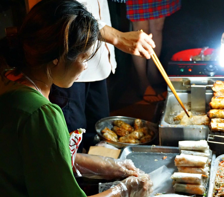 The fried spring roll was a hit with everyone on our food tour of Hanoi