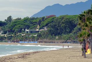 Image of Playa de la Fontanilla near Marbella. spain marbella harveybarrison hbarrison