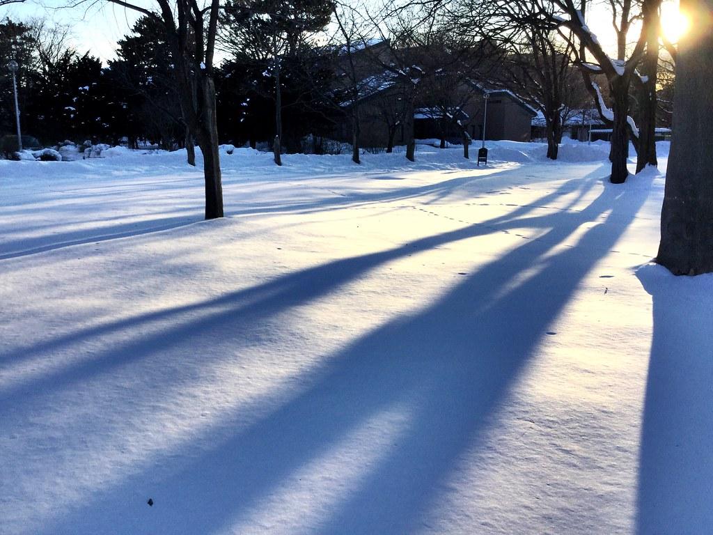 一大片,我好想跳撲下去,雪比我想像中的冰很多。從新千歲機場往札幌的路上,看著窗外的雪很興奮!隔壁靠窗的大叔還問我要不要交換位置給我拍照!  其實我不知道耶,想要用眼睛捕捉完所有的畫面!  不過這裡真的好冷,冷到手指頭都沒感覺,冷到我都拍好少!  #snow #sapporo #traveltojapan #japan #travel #winter #shadow #ipod #ipodtouch 一大片,我好想跳撲下去,雪比我想像中的冰很多。從新千歲機場往札幌的路上,看著窗外的雪很興奮!隔壁靠窗的大叔還問我要不要交換位置給我拍照!  其實我不知道耶,想要用眼睛捕捉完所有的畫面!  不過這裡真的好冷,冷到手指頭都沒感覺,冷到我都拍好少!  #snow #sapporo #traveltojapan #japan #travel #winter #shadow #ipod #ipodtouch Photo by Toomore