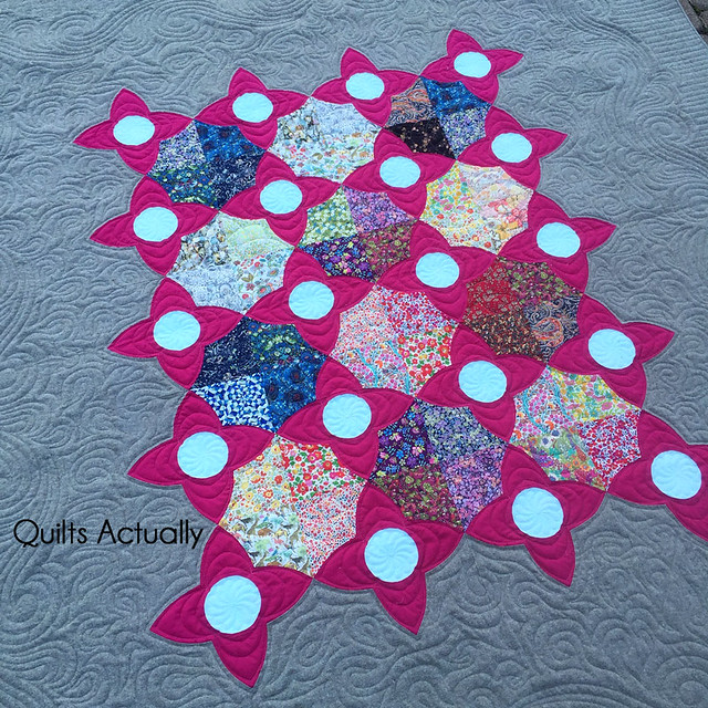 Meadow quilt detail