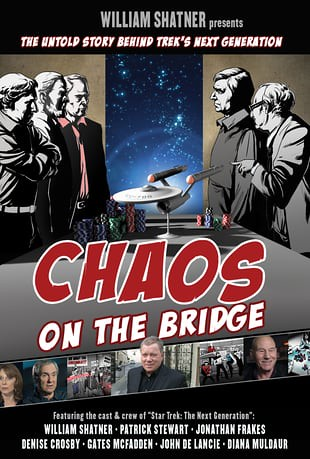 """Chaos on the Bridge"" poster"