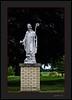 St Patricks Statue at Palms MI