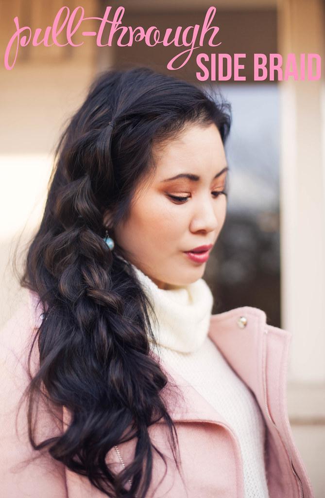 pull-through side braid tutorial #RethinkColour