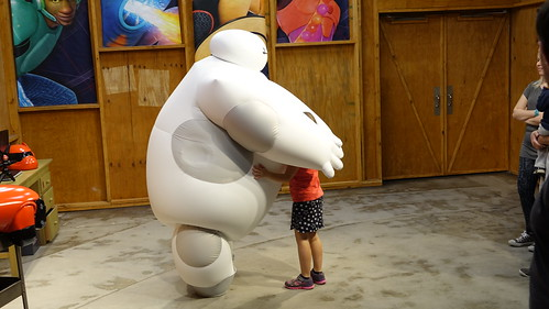 Epcot Character Spot in Epcot with Baymax (4)
