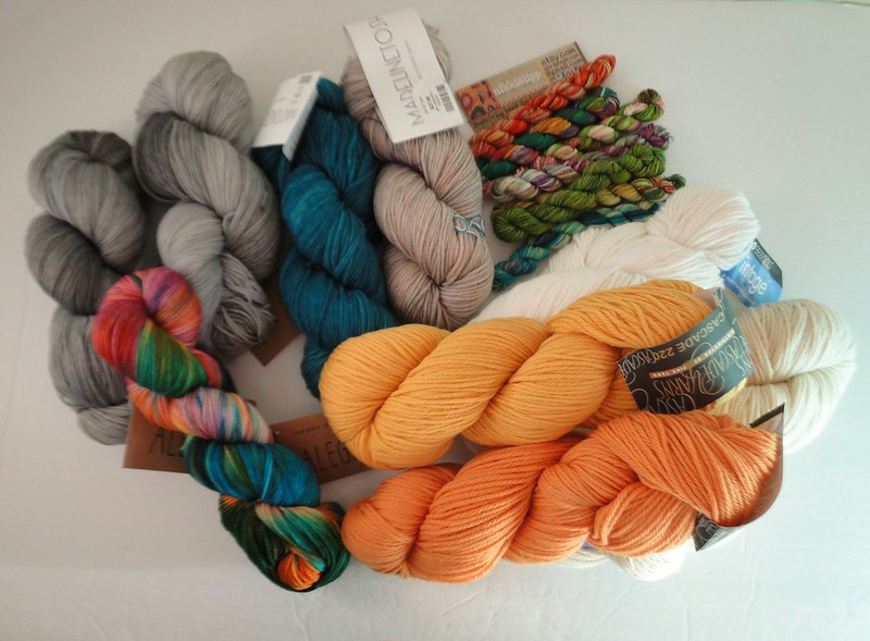 yarn in the door this week