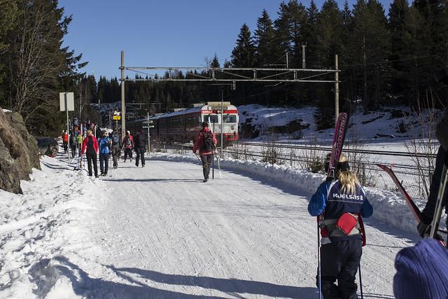Oslo Ski Urbanism - Train