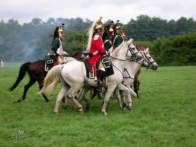 Haarmühle 2005 - Napoleontische Veldslag