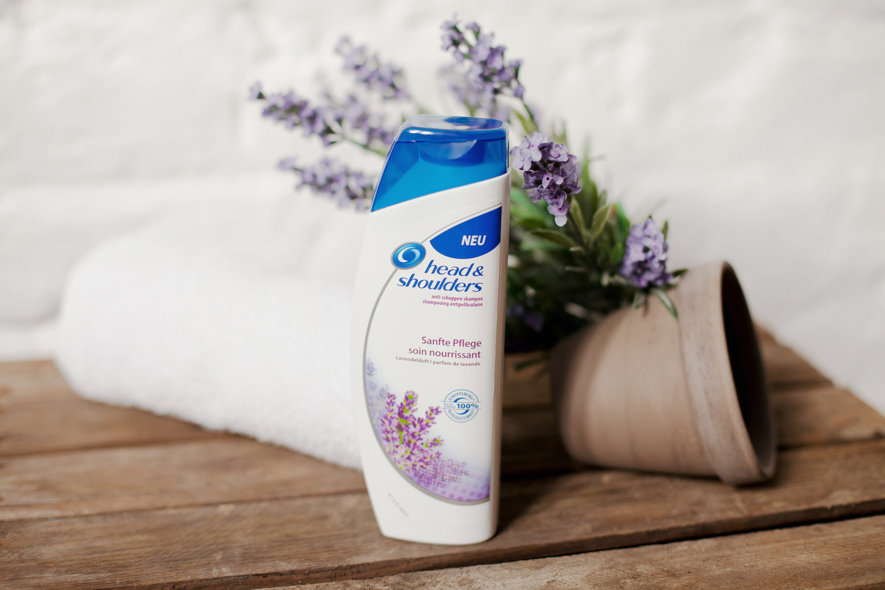 head & shoulders sanfte pflege lavendelduft lavendel lavender scent soin doux beauty beautyblogger product review haircare hair care antischuppen shampoo cats & dogs blog wie hund und katze ricarda schernus blogger düsseldorf berlin 4