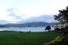 Pebble Lodge with view of 18th Hole