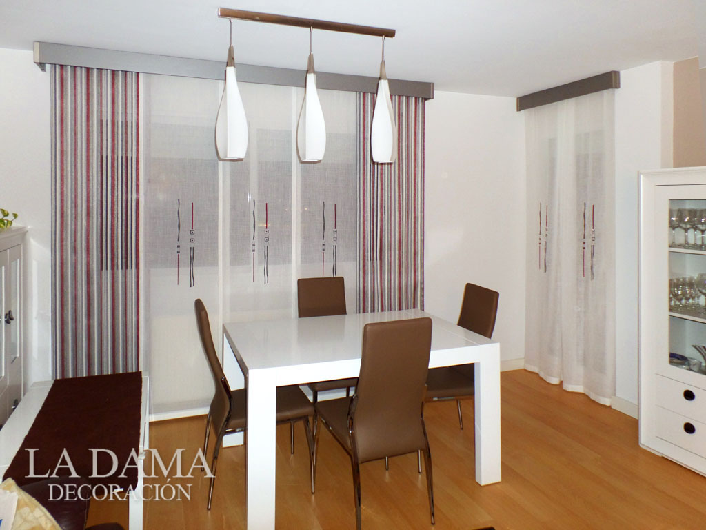 Fotos de cortinas instaladas en ambientes - Cortinas para salon moderno ...