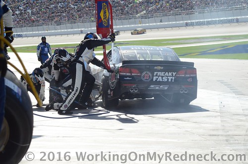 Kevin Harvick PIt Stop