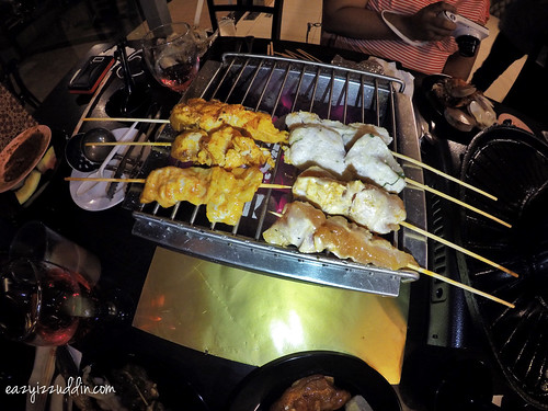 Steambot BBQ D'Kayangan