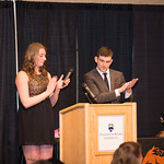 Kassie Colonna and Reese Pribilsky clap (Mar 24, 2016 Snucins)