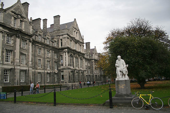 Trinity College. Paco Bellido, 2007