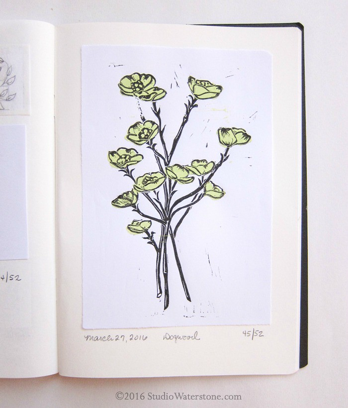 52 Weeks of Print: 45/52 Dogwood