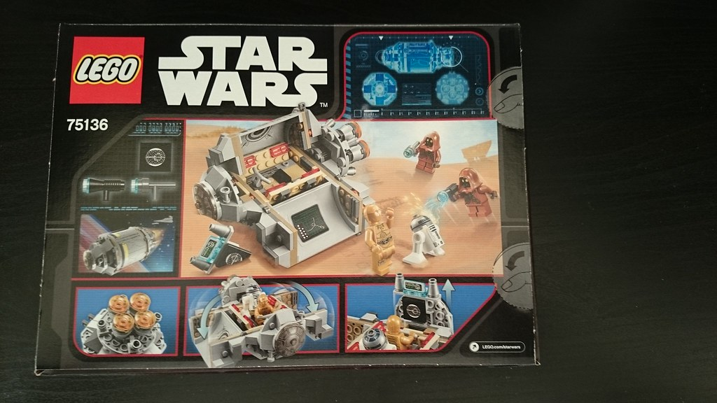 ThebrickReview: LEGO 75136 - (Star Wars) Droid Escape Pod (Pic Heavy!) 25611166160_d95b21959e_b