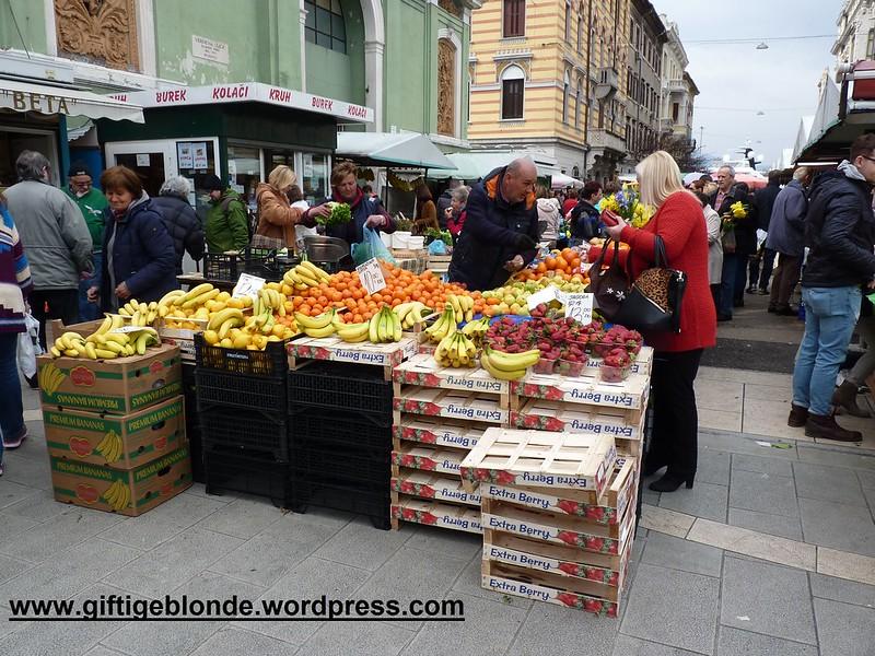 Markt in Rijeka