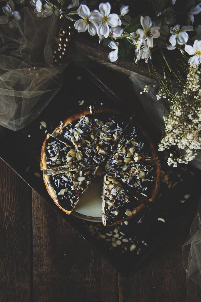 Almond Joy Cheesecake Recipe | PasstheSushi.com