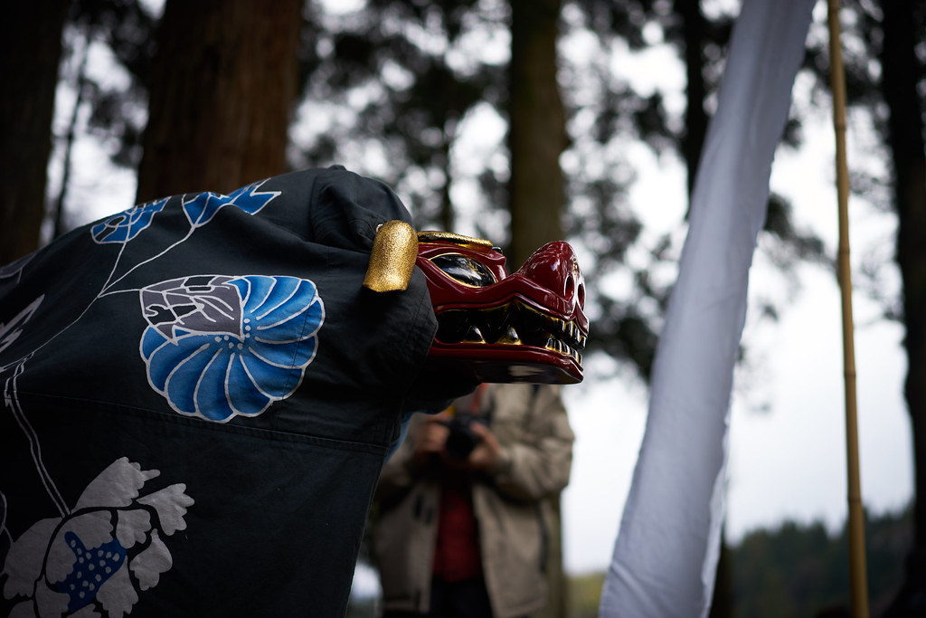 小川寺の獅子舞