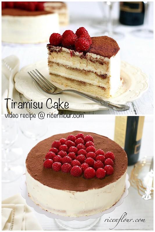 How to make Tiramisu Cake (recipe with video) - Rice 'n Flour Decoration Tiramisu on