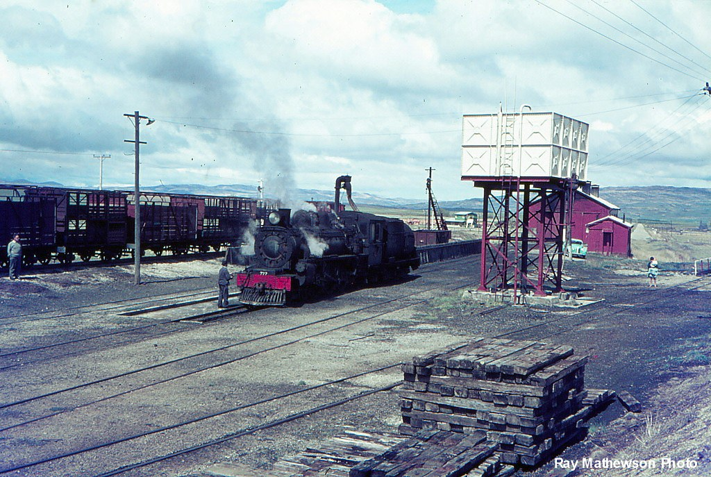 Loco depot at Ranfurly.