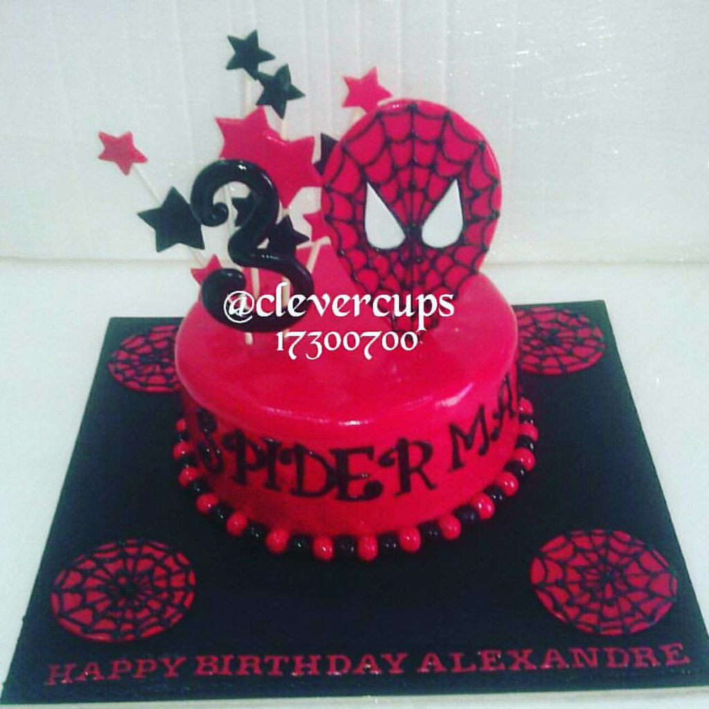 Spiderman Cake Design To Order Visit Al Aali Mall Or Call Flickr