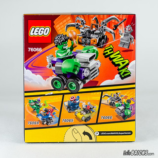 REVIEW LEGO 76066 Mighty Micros Hulk vs Ultron (HelloBricks)