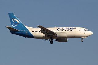 Adria Airways (Ukraine International Airlines - UIA) Boeing 737-528 UR-GAS