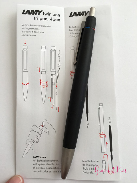 Review Lamy 2000 4-Pen Ballpoint @BureauDirect (6)