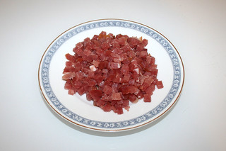 05 - Zutat Speckwürfel / Ingredient bacon dices
