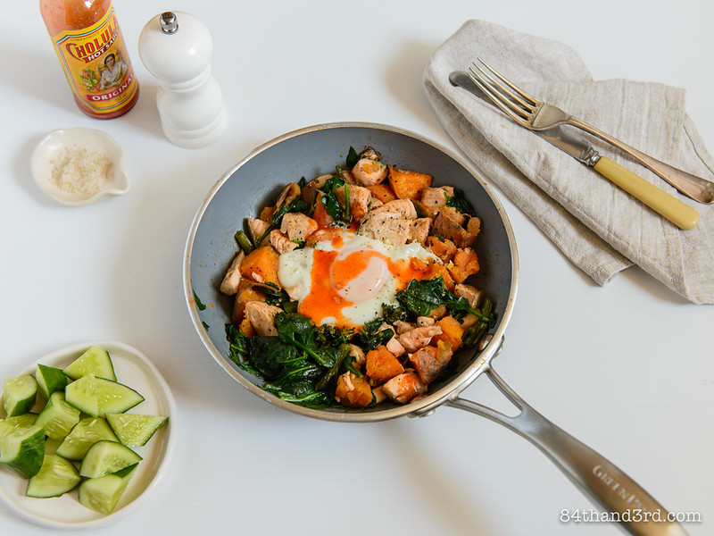Fridge Surprise Skillet Hash