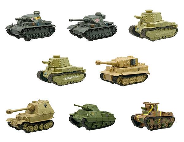 《少女與戰車》劇場版 【坦克盒玩】第二彈續推出!