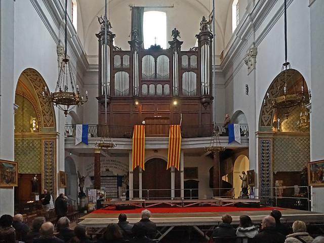 Les grandes orgues de l'église Saint Pierre (Céret)