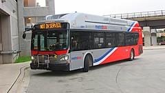 WMATA Metrobus 2015 New Flyer Xcelsior XN40 #2855