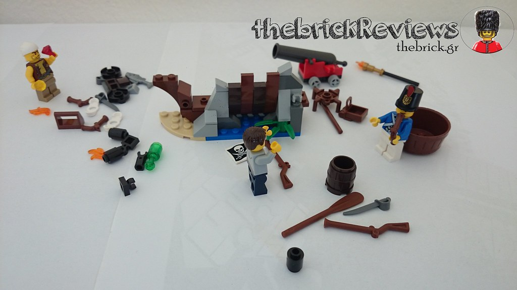 ThebrickReview: LEGO 70409 Shipwreck Defense (Pic Heavy!) 26305605116_10c5f95745_b