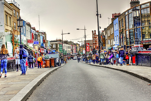 Camden Town London from life of Charles Dickens
