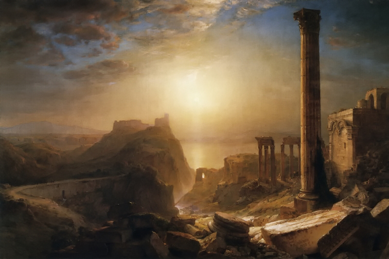 Syria by the Sea by Frederic Edwin Church, 1873