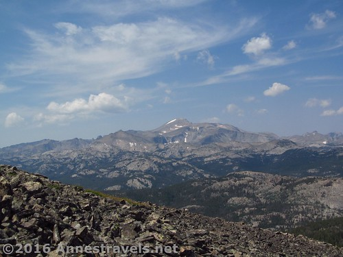 Views from Roaring Fork Mountain, Wind River Range, Wyoming