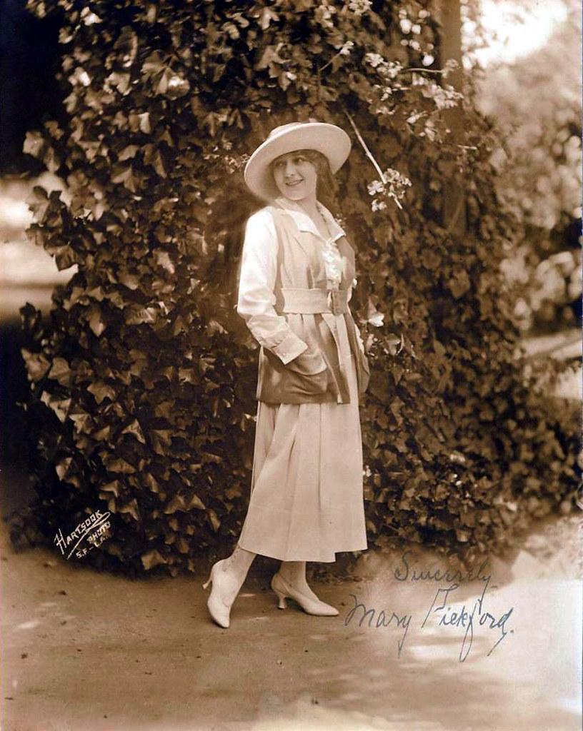 Mary Pickford - by Hartsook