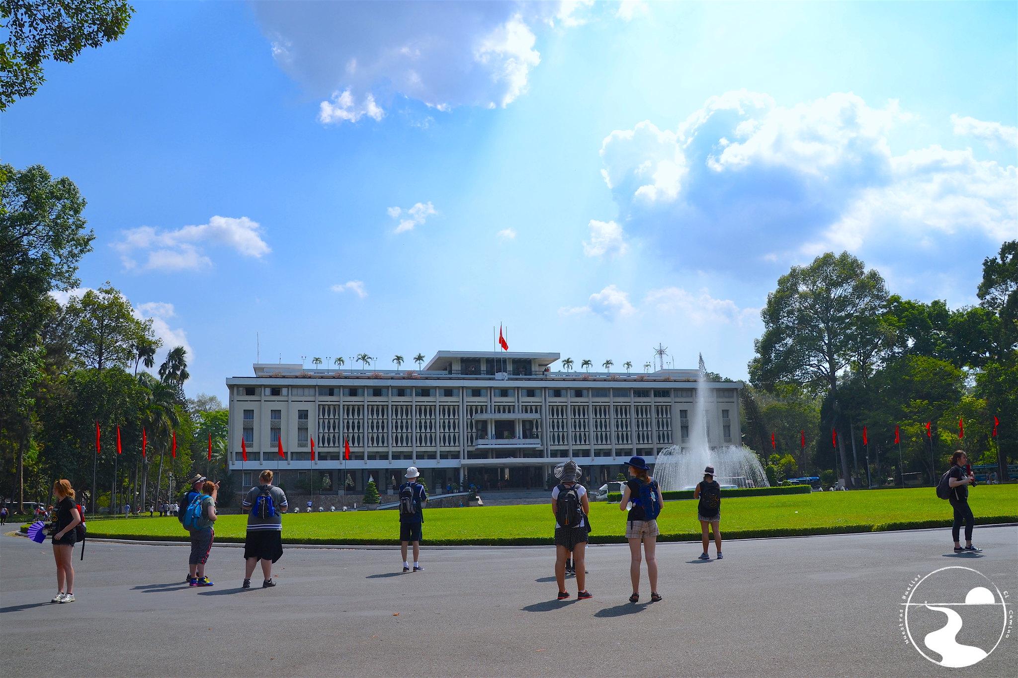 Palacio de la independendia, Saigon