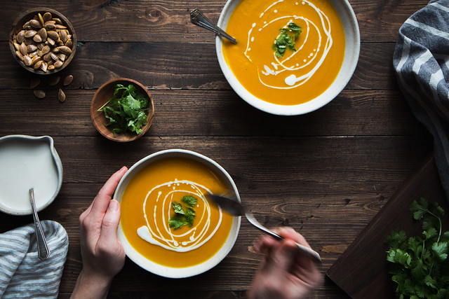 Curried Kabocha Squash Soup | Will Cook For Friends