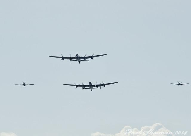 Battle of Britain Memorial Flight 2014
