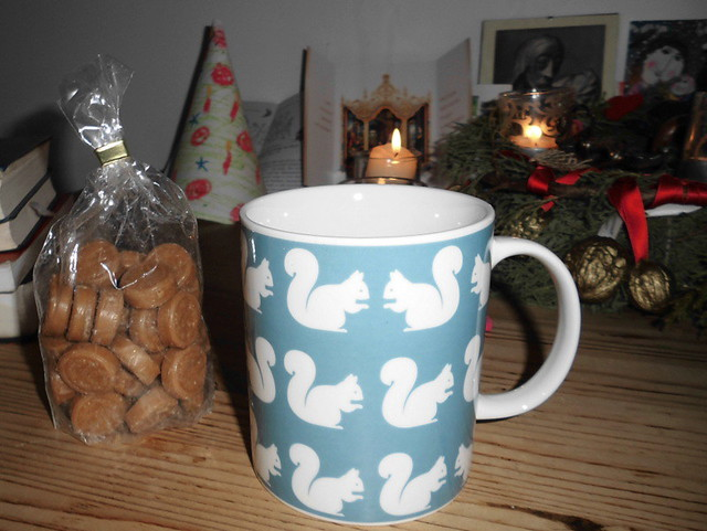 Gabentisch - Tasse mit Eichhörnchen