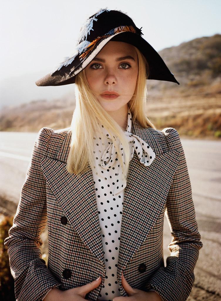 Эль Фаннинг — Фотосессия для «Vogue» 2015 – 8